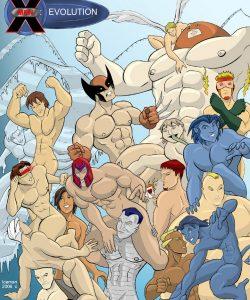 X-Men Evoloution gay furry comic