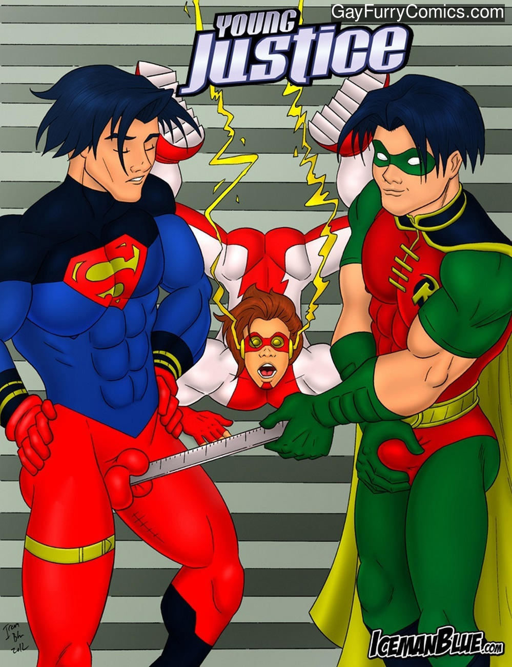 Young Justice gay furries