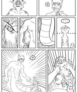 Zenny And Alpha 002 and Gay furries comics