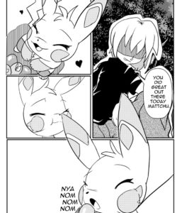 A Bonding Experience 003 and Gay furries comics