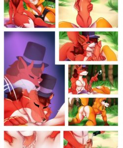A Foxy Day At The Beach gay furry comic
