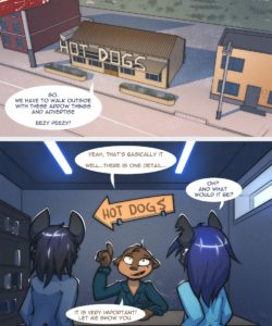 A New Job 004 and Gay furries comics