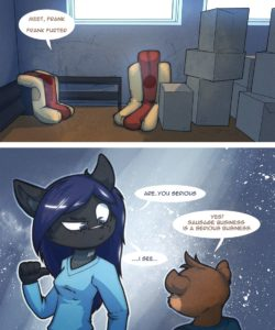 A New Job 005 and Gay furries comics