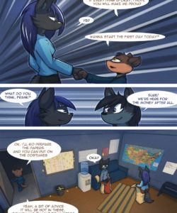 A New Job 006 and Gay furries comics