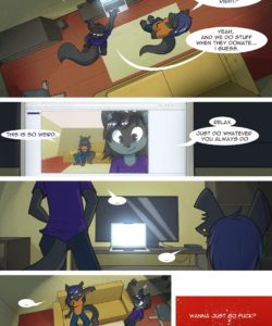 A New Job 021 and Gay furries comics