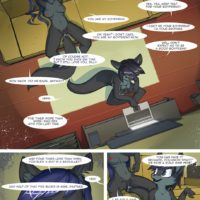 A New Job gay furry comic