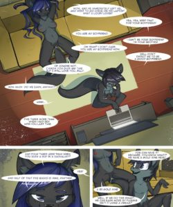 A New Job 029 and Gay furries comics