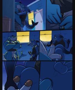A Sharkowski Comic 003 and Gay furries comics