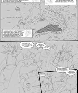A Trial By Fire 002 and Gay furries comics
