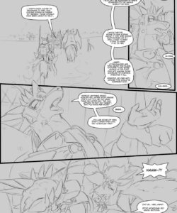 A Trial By Fire 003 and Gay furries comics