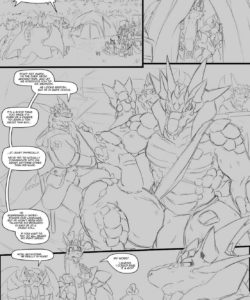 A Trial By Fire 006 and Gay furries comics