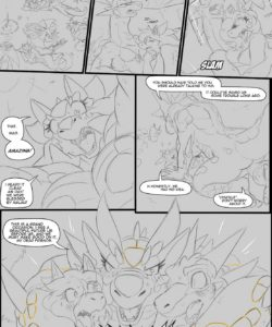 A Trial By Fire 046 and Gay furries comics