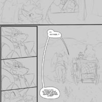 A Trial By Fire gay furry comic