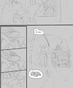 A Trial By Fire 051 and Gay furries comics