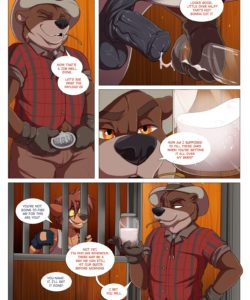 BareBack Valley gay furry comic