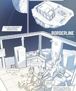 Borderline 1 gay furry comic