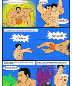 Breast-Man 2 007 and Gay furries comics