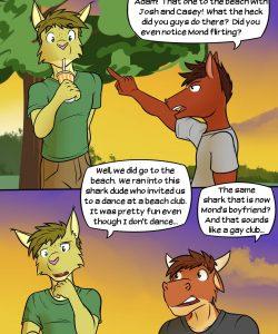 Buckin' Broncos 003 and Gay furries comics