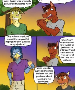 Buckin' Broncos 004 and Gay furries comics