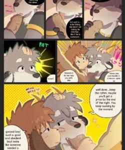 Cam Friends 2 gay furry comic
