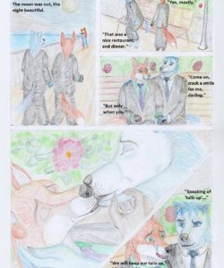 Candlelight Dinner 006 and Gay furries comics