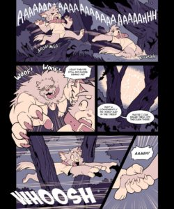Catsudon Gets Gangbanged In The Woods By Werewolves Who Are Also A Bunch Of Dorks gay furry comic