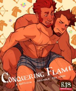 Conquering Flame - A Napoleon x Iskandar Fancomic 001 and Gay furries comics