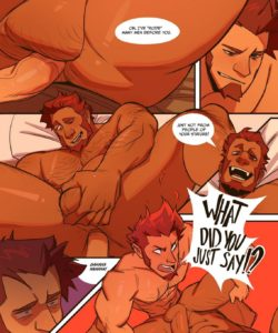 Conquering Flame - A Napoleon x Iskandar Fancomic 006 and Gay furries comics