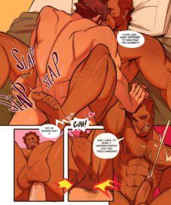 Conquering Flame - A Napoleon x Iskandar Fancomic 007 and Gay furries comics