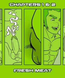 Daddy's House Year 1 – Chapter 1 & 2 – Fresh Meat gay furry comic