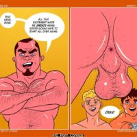 Daddy's House Year 1 - Chapter 3 - Sweaty Balls gay furry comic