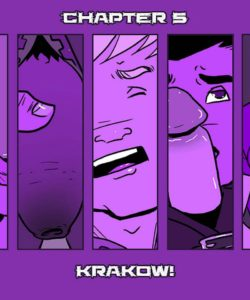Daddy's House Year 1 – Chapter 5 – Krakow! gay furry comic