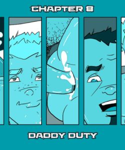 Daddy's House Year 1 - Chapter 8 - Daddy Duty 001 and Gay furries comics