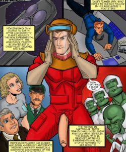 Dan Dare 002 and Gay furries comics