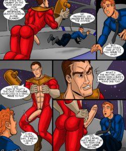 Dan Dare 003 and Gay furries comics