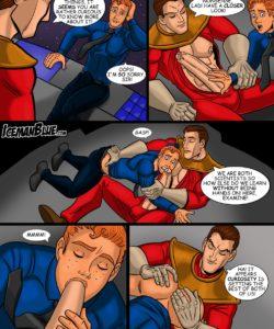 Dan Dare 004 and Gay furries comics
