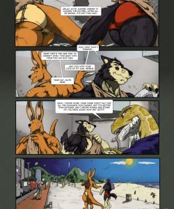 Dog-Boned 2 gay furry comic