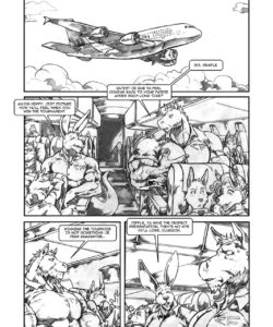 Down Under A Rabbit Hole 001 and Gay furries comics