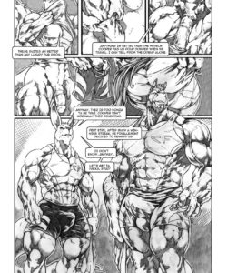 Down Under A Rabbit Hole 007 and Gay furries comics