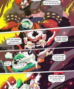 Dragon Of The Chi gay furry comic