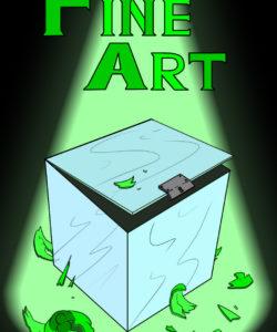 Fine Art gay furry comic