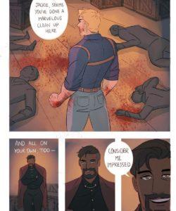 Generous Leader gay furry comic