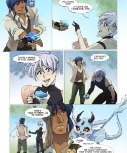 Guardians Of Gezuriya 1 - The First Trial 004 and Gay furries comics