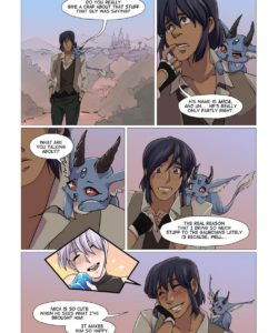 Guardians Of Gezuriya 1 - The First Trial 006 and Gay furries comics
