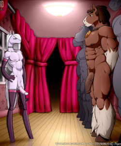 Horse And Pony Show gay furry comic