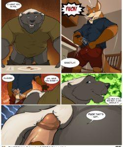 Housewarming gay furry comic