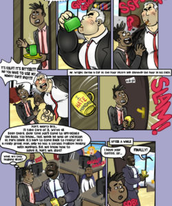 I Hate Mondays! 004 and Gay furries comics