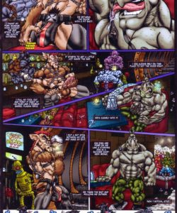 In Space No One Can Hear You Squeal 004 and Gay furries comics