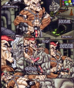 In Space No One Can Hear You Squeal 005 and Gay furries comics
