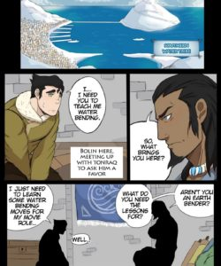 Legend Of Bolin gay furry comic